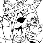 Coloriage Scooby-Doo halloween