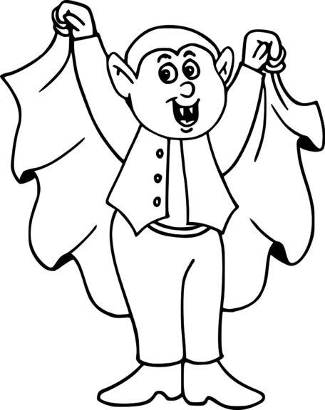 Coloriage Dracula